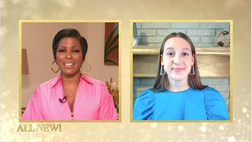 Tamron Hall loves Zolli Candy! She interviews Zolli Candy CEO Alina Morse about her Million Smiles Initiative.