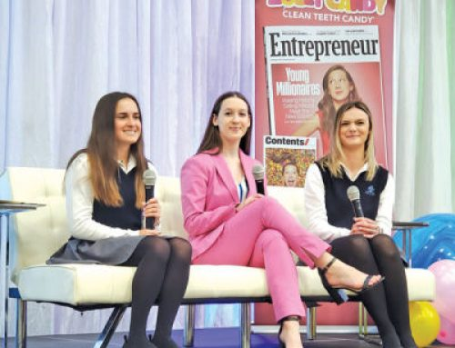 Former WBSD student is an 'Entrepreneur of the Year' finalist