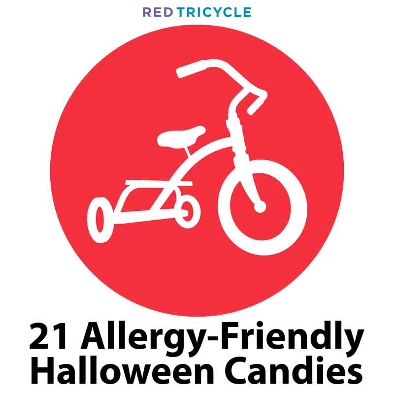 Red Tri Red Tricycle Spokin 21 allergy friendly halloween candies